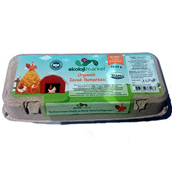 Ekoloji Market Organic Egg (10 Pcs)