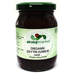Ekoloji Market Organic Black Olive Paste 190g