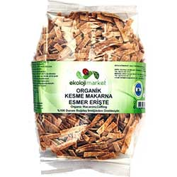 Ekoloji Market Organic Home Made Fettuccini (Whole Wheat) 400g