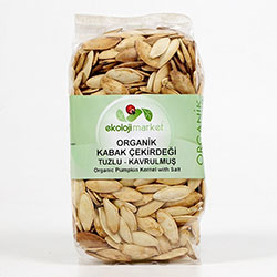 Ekoloji Market Organic Pumpkin Seeds (Salted, Roasted) 200g