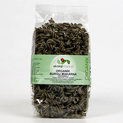 Ekoloji Market Organic Pasta (Fusilli, With Spinach) 300g