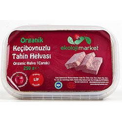 Ekoloji Market Organic Tahini Halva (Carob) 250g