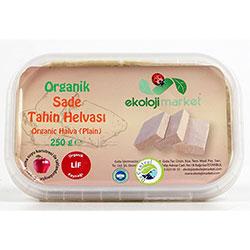 Ekoloji Market Organic Tahini Halva (Plain) 250g