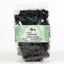 Ekoloji Market Organic Seeded Black Grape 200g
