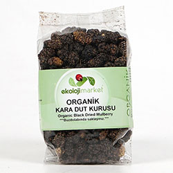 Ekoloji Market Organic Dried Black Mulberry 200g