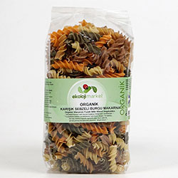 Ekoloji Market Organic Pasta (Linguini, With Vegetables) 300g