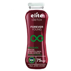 Elite Organic Detoks Forever Young Juice 200ml