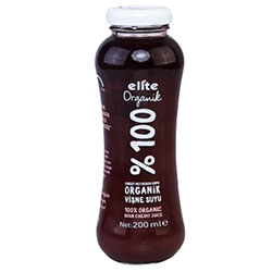 Elite Organic %100 Sour Cherry Juice 200ml