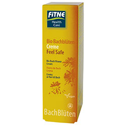 Fitne Organic Bio Bach Flower Creme Feel Safe 50ml