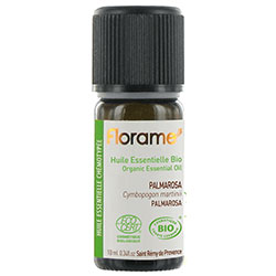 Florame Organic Palmarosa Essential Oil (Cymbopogon martinii) 10ml