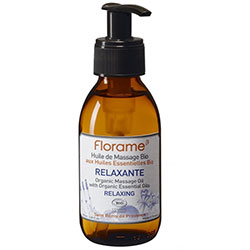 Florame Organic Relaxante Relaxing Massage Oil 120ml