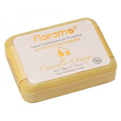 Florame Organic Traditional Soap (Cinnamon & Orangei) 100g