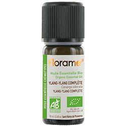 Florame Organic Ylang-Ylang Complete Essential Oil (Cananga Odorata) 10ml