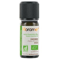 Florame Organic Ginger Essential Oil (Zingiber Officinalis) 5ml