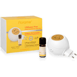 Florame Electric Insect Repellent Diffuser + Organic Essential Oil 10ml