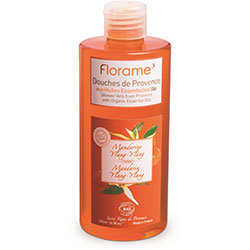 Florame Organic Shower Gel (Orange & Mandarin) 500ml