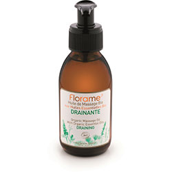 Florame Organic Massage Oil (Draining) 120ml