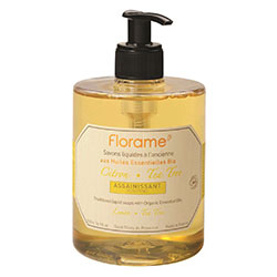 Florame Organic Traditional Liquid Soap (Lemon-Tea Tree) 500ml