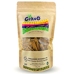 Gekoo Organic Chips with Vegetable (Linseed & Nigella & Olive Oil) 115g