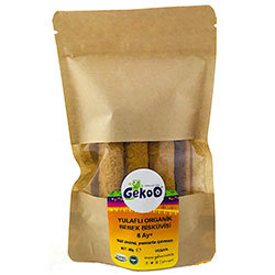 Gekoo Organic Baby Biscuit with Oat 150g