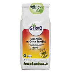 Gekoo Organic Wheat Semolina 450g