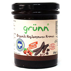 Grünn Organic Carob Paste With Hazelnut 200g