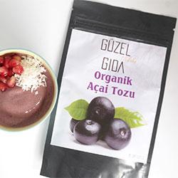 Güzel Ada Gıda Organic Acai Powder 35g