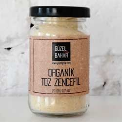GÜZEL GIDA Organic Ginger Powder 30g