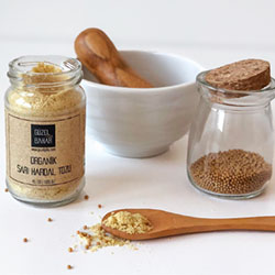 GÜZEL GIDA Organic Yellow Mustard Seed 45g
