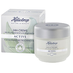 Heliotrop Organic Active 24 Hour Cream 50ml