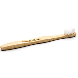 Humble Brush Bamboo Toothbrush (Child, Ultra Soft, White)