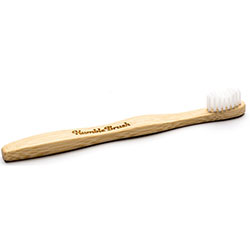 Humble Brush Bamboo Toothbrush (Adult, Soft, White)