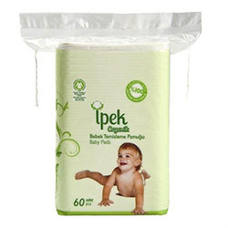 İpek Organic Cotton Baby Pads 60Pcs