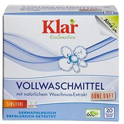 Klar Organic Heavy Duty Detergent (Waschnuss) 1,1Kg
