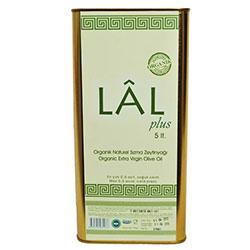 LAL Organic Extra Virgin Olive Oil (Cold Press 0,6 Acid) 5L