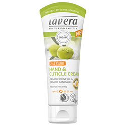 Lavera Organic Hand & Cuticle Cream (Olive Oil & Camomile) 75ml