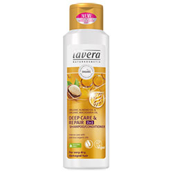 Lavera Organic Shampoo & Conditioner (Deep Care & Repair) 250ml