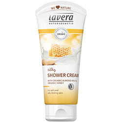 Lavera Organic Shower Cream (Almond Milk & Honey) 200ml