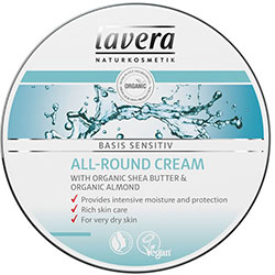 Lavera Organic Basis Sensitiv Hand and Body Cream (Shea Butter & Almond) (For All Skin Type) 150ml