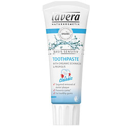 Lavera Organic Basis Sensitiv Toothpaste (Propolis & Echinacea) 75ml