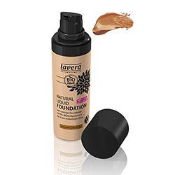 Lavera Organic Natural Liquid Foundation (06 Almond Caramel)