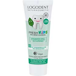 Logodent Organic Fresh Kids Mint Toothgel 50ml