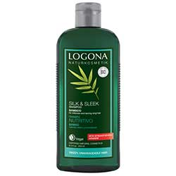 Logona Organic Shampoo (For Shiny Hair, Bamboo Cream) 250ml
