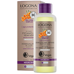 Logona Organik Age Protection Bi-Phase Eye Make-Up Remover 100ml