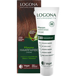 Logona Organic Herbal Hair Colour Cream (230 Chestnut Brown)