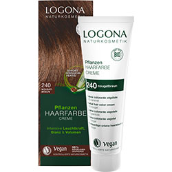 Logona Organic Herbal Hair Colour Cream (240 Nougat Brown)
