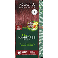 Logona Organic Herbal Hair Colour Powder (050 Mahogany Brown)
