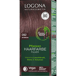 Logona Organic Herbal Hair Colour Powder (092 Red Brown)