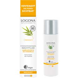 Logona Organic Pore Refining Night Fluid 30ml