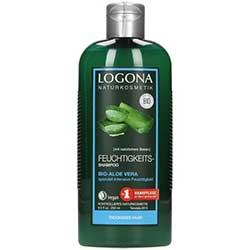 Logona Organic Shampoo (Hydrating, Aloe Vera) 250ml